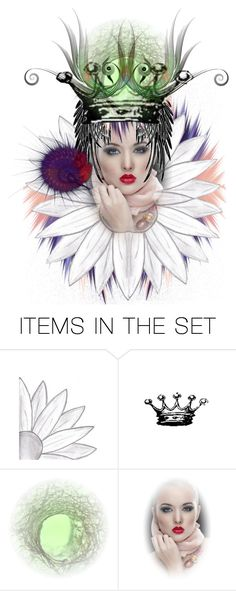 """Beauty queen"" by jojona-1 ❤ liked on Polyvore featuring art"