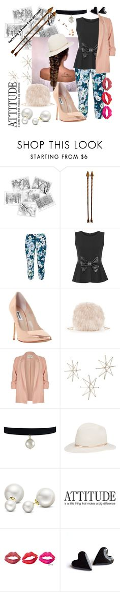 """""""Untitled #152"""" by meagosen ❤ liked on Polyvore featuring Rimini, WearAll, Dune, Sole Society, River Island, Uttermost, Janessa Leone, Allurez and WALL"""