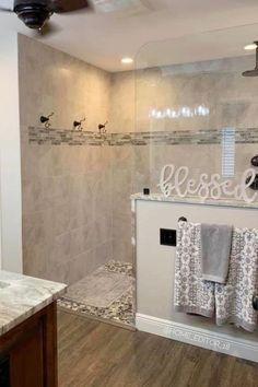 Master Bath Remodel, Remodel Bathroom, Budget Bathroom, Small Shower Remodel, Master Bathroom Shower, Modern Bathroom, Bathroom Shower Designs, Bathroom Floor Plans, Walk In Shower Designs