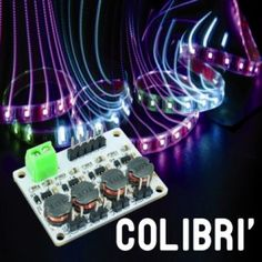 COLIBRÌ: the driver for RGBW LEDs
