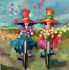 Angela Morgan lives and works in Fernie, B. Angela is represented in galleries across Canada, in the United States and Switzerland. Paintings I Love, Whimsical Art, Figure Painting, Art Pictures, New Art, Folk Art, Watercolor Paintings, Abstract Art, Illustration Art