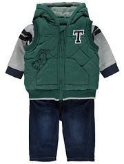 Disney Tigger 3 Piece Outfit Set