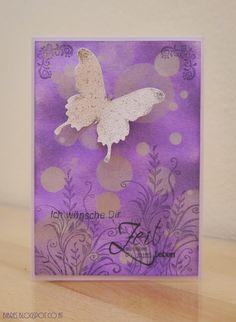 Bokeh Card