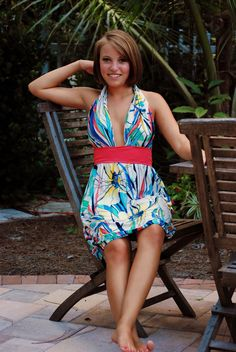 DIY Cruise Dress #DIY #Sewing #Sew #Dresses #Clothes