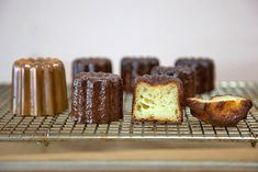 Detailed Canele recipe made with copper molds