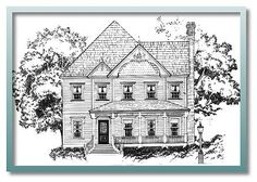 Authentic Historical Designs, LLC House Plan-Olympia, Victorians ...