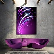 E-HOME®+Stretched+LED+Canvas+Print+Art+The+Shining+Star+Flash+effect+LED+–+USD+$+78.65