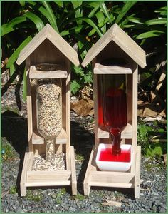 New Zealand Backyard Birds - Combo Deal: 2 Large Feeders (Seed & Nectar) + 1kg seed mix, $88 incl freight