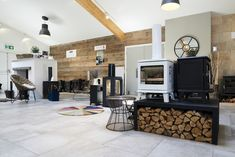 Stoves, Bristol, Showroom, Home Appliances, Bath, Wood, House Appliances, Bathing, Skillets