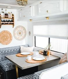 Inspiring 14 Best RV Camper Interior Remodel Ideas camperlife co One of the greatest methods to des&; Inspiring 14 Best RV Camper Interior Remodel Ideas camperlife co One of the greatest methods to des&; Camper Renovation, Home Renovation, Home Remodeling, Rv Interior Remodel, Architecture Renovation, Camper Remodeling, Basement Renovations, Best Travel Trailers, Travel Trailer Remodel