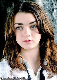 Williams has played Arya Stark, a tomboyish young girl from a noble family, in the HBO fantasy TV series Game of Thrones.  #MaisieWilliams #singer #hollywood #gossipgirls #unomatch #actress #model #fanpage like : http://www.unomatch.com/maisie-williams/