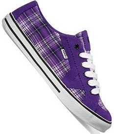 Purple plaid