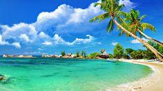 Wallpaper Waterfall Tropical Beach | Tropical Beach Wallpaper - Samsung Galaxy Wallpapers, HD & HQ ...