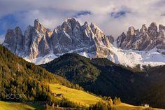 Autumn in Dolomites by MORKES via http://ift.tt/2iyG3Pz