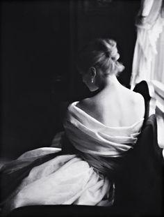 Margie Cato [test shoot] New York, 1950    photo by Lillian Bassman