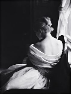 Margie Cato [test shoot] New York, 1950    photo by Lillian Bassman