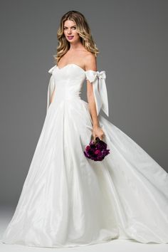 Elegant WTOO Albina wedding gown Find this dress at Janene us Bridal Boutique located in