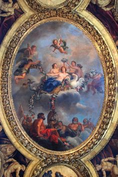 Versailles - (a)Typical Ceiling