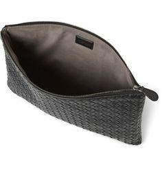 Bottega Veneta Leather Pouch