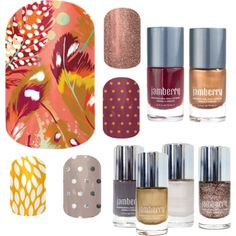 """Jamberry combos - Flock together"" by andrearuelling on Polyvore"