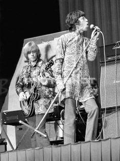 Brian Jones & Mick Jagger
