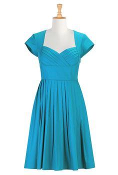 Shop women's Full sleeve dresses - Sundress - Shop for Sundresses - Custom size and style to suit you - | eShakti.com