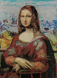 Isleworth Mona Lisa by Lyrica Glory from Modern Eden Gallery for #Mona