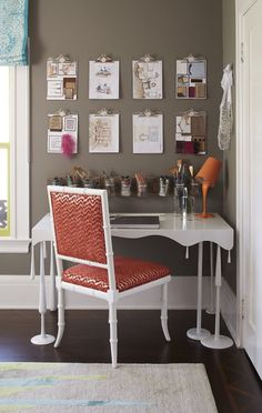 Creative thinking For the San Francisco Decorator Showcase Tineke Triggs dreamed up a Lily 39 s Pad for an artistic preteen Triggs started with a Cre… – Preteen Preteen Bedroom, Teen Girl Bedrooms, House Of Turquoise, Design Room, Interior Design, Bedroom Orange, Bedroom Colors, My New Room, My Room