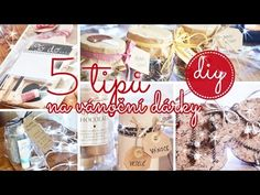 Vánoční DIY dárky #1 | Tipy na dárky | #laterezatelier - YouTube