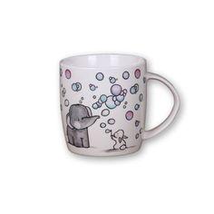 Elefántos, buborékfújós bögre Minion, Mugs, Tableware, Dinnerware, Tumblers, Tablewares, Minions, Mug, Dishes