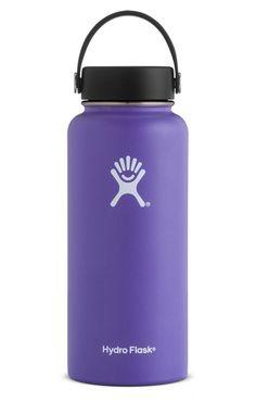 Oggi 25oz Stainless Steel Sports Water Bottle Leak Proof Cap Carabiner Clip