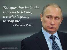 ... Vladimir Putin ...