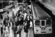 Celebrating 40 years of Prague metro: Muzeum Station in 1975