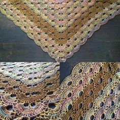 Omslagdoek de Duitse st. Jacobsschelp - patroon – Knotten Crochet Cross, Shawls And Wraps, Bohemian Rug, Blanket, Blog, Cross Stitching, Crocheting, Weaving, Craft Work