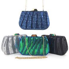 Fashion Sequins Square Clutch Bags 2020 Bridal Clutch Bag, Clutch Bags, Bleu Marine, Color Negra, Evening Party, Purse Wallet, Bucket Bag, Luggage Bags, Sequins