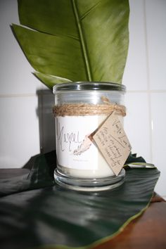 Vanilla love- can't get much better than this. Soy Wax Candles, Candle Wax, Vanilla, Canning, Home Canning