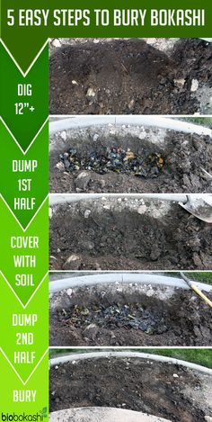 Gardening Compost Bury Bokashi Process, bury bokashi, bokashi, how to bokashi Compost Soil, Garden Compost, Composting, Worm Farm, Urban Farming, Edible Garden, Outdoor Projects, Sustainable Living, Permaculture
