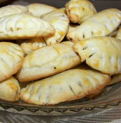 Hot Mushroom Turnovers - these are amazing.  very tasty and pretty easy