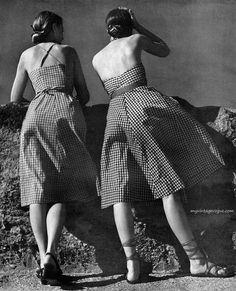 Harper's Bazaar May 1943 - photo by Louise Dahl-Wolfe