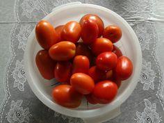 Tomates fresquinhos.