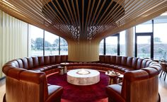The result of an international competition won by Chicago architects Walter Burley Griffin and Marion Mahoney Griffin in 1911, Canberra's city plan is based around geometric motifs (circles, hexagons and triangles) on axes. Inspired by this mathema...