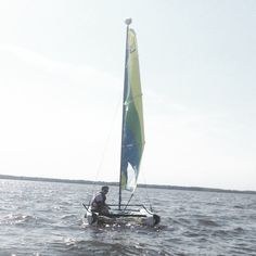 Like sailing? Guests can take out a Hobie Cat any time they like at the all-inclusive @thetylerplace in Vermont.