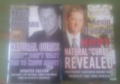 2 Kevin Trudeau Hardcover Books - Natural Cures & More Revealed - Like New