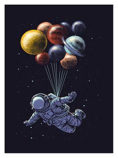 Weltraumausflug :)