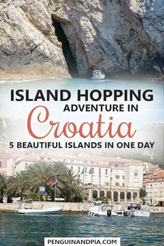 When in Croatia, a day of Island Hopping is something you should definitely consider! Click to read more about our island hopping adventure from Split, including the islands Hvar, Vis, Bisevo (with the Blue Cave) and many more! #croatia #islands #islandho