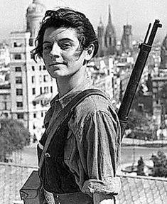 Muere Marina Ginestà, miliciana en la Guerra Civil española
