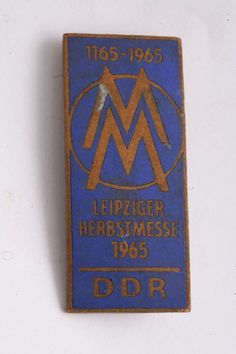 Autumn Fair East Germany FDJ Fair of Masters of Tomorrow Pin Badge DDR Science | eBay