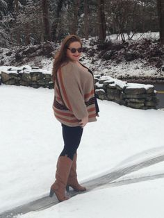 Stylist Style: Snow Day - The Juicer #stylist #plussize #fashion