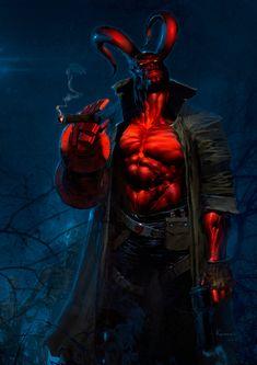 Hellboy | Anton Kokarev
