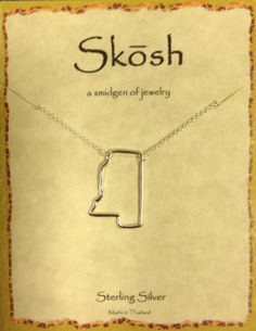 Skosh Mississippi Necklace